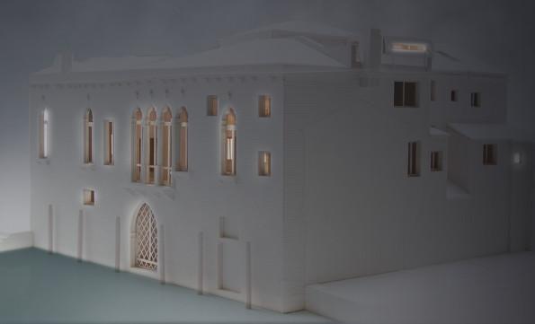 Palazzetto Bragora - modello | Studio C and C