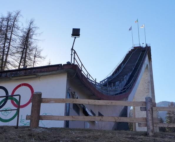 Cortina, Olympic ski jump: current situation | C and C