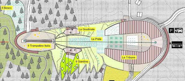 Cortina, Master-Plan for the area | C and C
