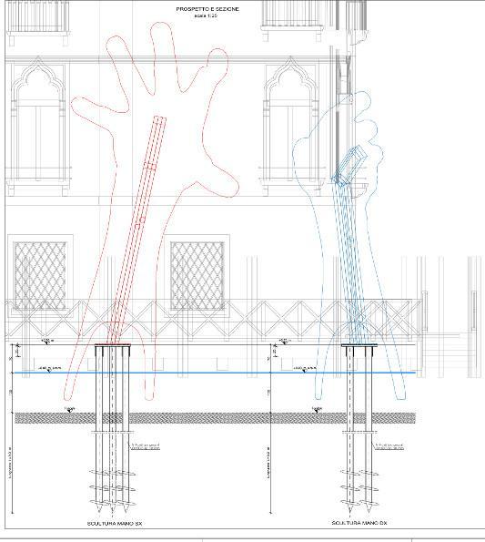 Support, Lorenzo Quinn | C and C architettura ingegneria